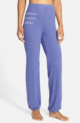 Wildfox Couture 'Midnight Snacking Expert' Sweatpants Deep End Snacking