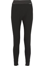 Stella Mccartney Christiane Stretch Cotton Blend Leggings