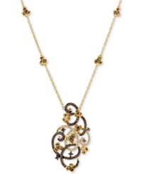 Le Vian Chocolatier Diamond Pendant Necklace 1 1 3 Ct. T.W. In 14K Gold Yellow Gold