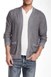 Joe's Jeans Sebastian Knit Cardigan Gray