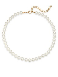 Saks Fifth Avenue 8Mm Simulated Pearl Necklace 16