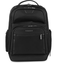 Briggs And Riley Work Medium Laptop Backpack Black