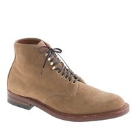 Alden For J.Crew Boots In Camel Suede