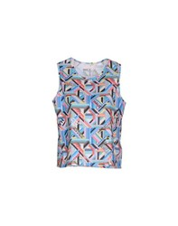 Haus Golden Goose Topwear Vests Women Azure