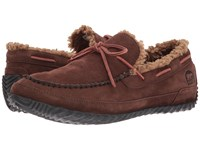 Sorel Maddox Moc Tobacco Rustic Brown Men's Slippers