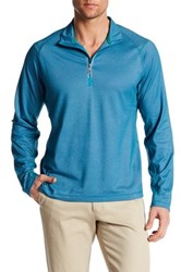 Tommy Bahama Double Eagle Half Zip Pullover Blue