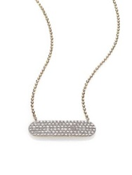 Phillips House Affair Diamond And 14K Yellow Gold Infinity Bar Necklace