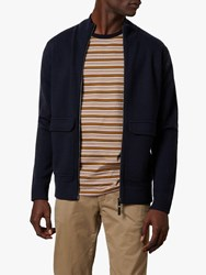 Ted Baker Newrule Funnel Neck Jacket Navy
