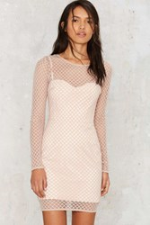 Sheer Off Course Mesh Dress