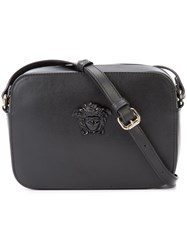 Versace 'Palazzo' Medusa Shoulder Bag Women Calf Leather One Size Black