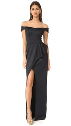 Black Halo Padma Dress Black
