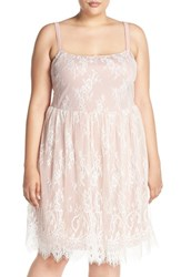Plus Size Women's Junarose 'Violet' Lace Sundress