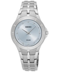 Seiko Women's Solar Recraft Series Stainless Steel Bracelet Watch 30Mm Sup307 No Color