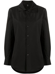 Y's Layered Collar Shirt Black