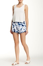 Romeo And Juliet Couture Tie Dye Short Blue