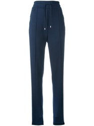 Lacoste Straight Leg Track Pants Blue