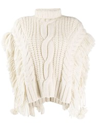 Ulla Johnson Chunky Knit Top Neutrals