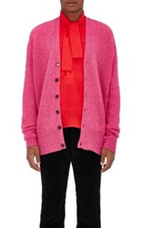 Gucci Women's Wool Oversized Cardigan Pink