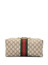 Gucci Ophidia Gg Wash Bag Brown