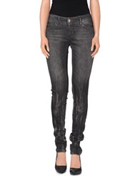 Philipp Plein Denim Denim Trousers Women Grey