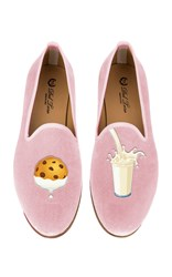 Del Toro M'o Exclusive Milk And Cookies Slipper Pink