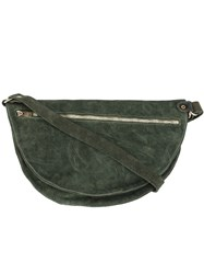 Guidi Hobo Shoulder Bag Green