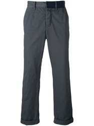 Sacai Over Dyed Chino Trousers Grey