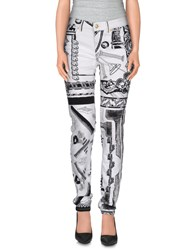 Versus Trousers Casual Trousers Women White