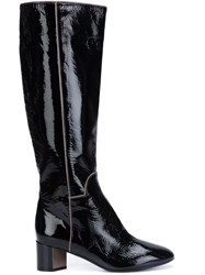 Pierre Hardy 'Belle' Knee Length Boots Black