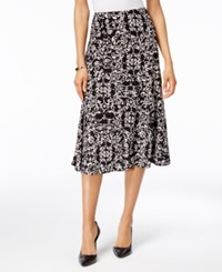 Jm Collection A Line Jacquard Skirt Only At Macy's Regal Medallion
