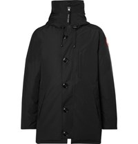Canada Goose Chateau Shell Hooded Down Parka Black