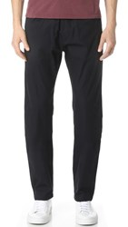 Our Legacy Gabardine Relaxed Trousers Navy