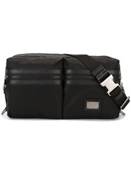 Dolce And Gabbana Double Compartment Bumbag Black