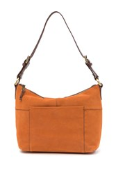 Hobo Charlie Leather Shoulder Bag Adobe