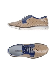 Manas Design Manas Low Tops And Trainers Beige