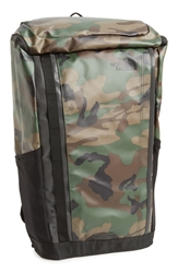 The North Face 'Base Camp Kaban' Water Resistant Backpack Camo Green Black