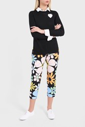 Thom Browne Women S Flower Printed Trousers Boutique1 001 Black