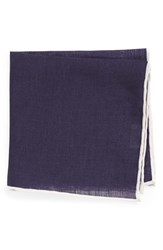 Men's Todd Snyder White Label Linen Pocket Square