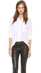 Equipment Signature Blouse Bright White