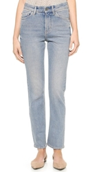 Mih Jeans The Halsy Straight Leg Jeans South Wash