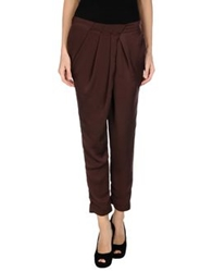 Hanita Casual Pants Cocoa