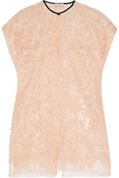 Tome Split Lace Top Pink