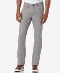 Perry Ellis Men's Slim Fit Flint Stone Washed Jeans