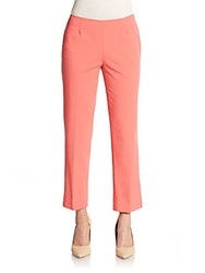 Lafayette 148 New York Cropped Trousers Bellini