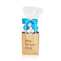 Bloomingdale's Little Brown Bag Blue And Silver Chocolate Foil Balls No Color