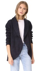 Bb Dakota Johnna Cocoon Jacket Navy