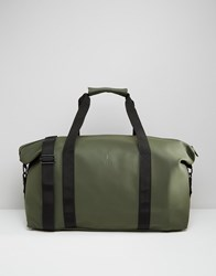 Rains Holdall In Green Green