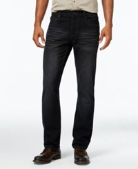 Inc International Concepts Men's Gusto Slim Fit Black Wash Jeans Only At Macy's