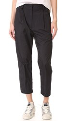 Dkny Relaxed Pants Black