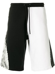 Marcelo Burlon County Of Milan Double Wings Shorts Black
